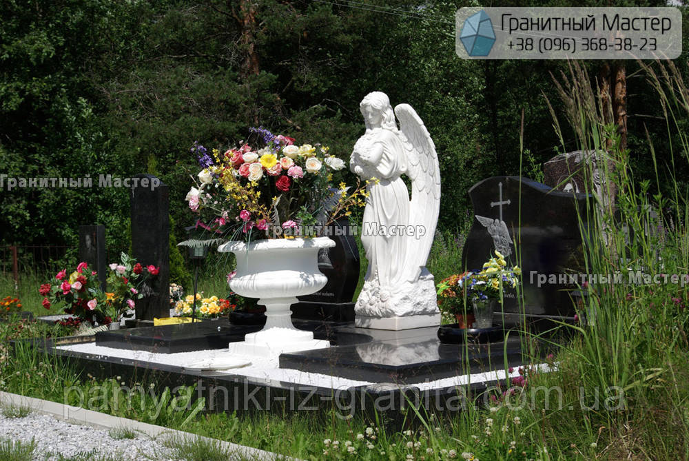 Скульптура ангела з мармуру № 51