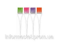 Кисть для фарбування волосся Eurostil 00101/56/99 (вузька, кольорова щетина)