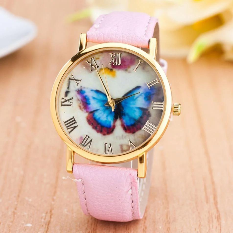 Часы наручные женские Бабочка