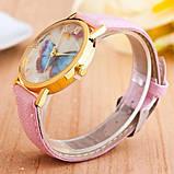 Часы наручные женские Бабочка, фото 3