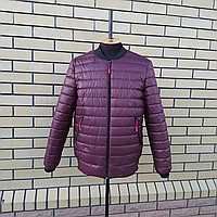 Мужская демисезонная куртка бомбер размеры 50-60