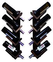 Винная настенная полка, полка для вина, полка для кухни из дерева 3\4\6\8\10\12 бутылок