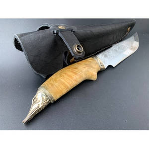 Нож охотничий Nb Art Щука 22k19 подарочный нож для охотника рыбака в чехле в ножнах
