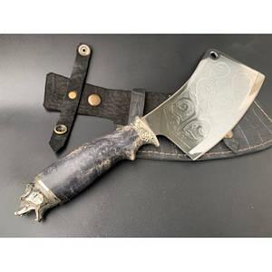 Нож-секач охотничий Nb Art Медведь 1k23 подарочный нож секач для охотника рыбака в чехле в ножнах