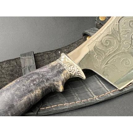 Нож-секач охотничий Nb Art Медведь 1k23 подарочный нож секач для охотника рыбака в чехле в ножнах, фото 2