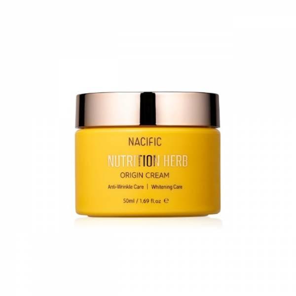 Осветляющий крем против морщин Nacific Nutrition Herb Origin Cream, 50 мл.