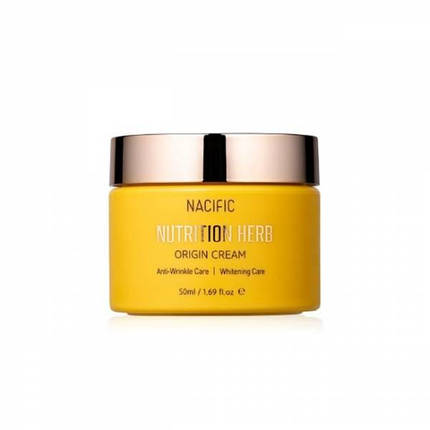 Осветляющий крем против морщин Nacific Nutrition Herb Origin Cream, 50 мл., фото 2