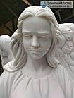 Скульптура ангела з граніту № 58, фото 5