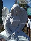 Скульптура ангела з граніту № 58, фото 6