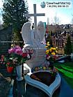 Скульптура ангела з граніту № 58, фото 10