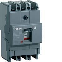 Автоматический выключатель корпусный Hager HDA160L 3P 18kA 160A x160