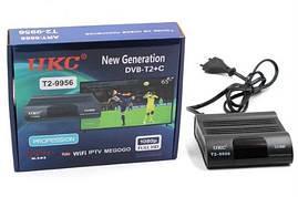 Тюнер DVB-T2 9956 (Приемник DVB-T2 для цифрового телевидения с поддержкой Wi-Fi адаптера