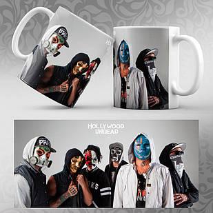 Чашка Hollywood Undead 002