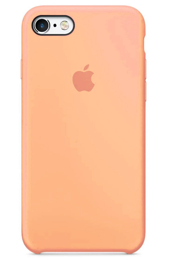 Задняя накладка Hi-Copy Silicone Case APPLE IPHONE 6 | 6S (№42 PEACH RED)