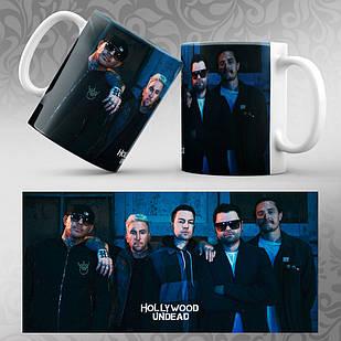 Чашка Hollywood Undead 003