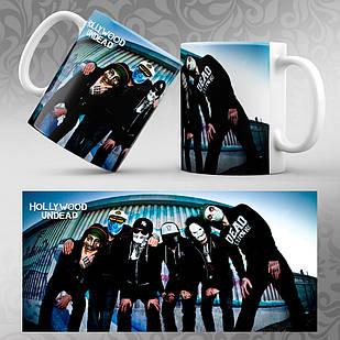 Чашка Hollywood Undead 004