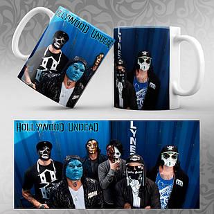 Чашка Hollywood Undead 006