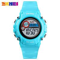 Skmei 1477 голубые детские спортивные часы, фото 1