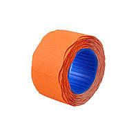 Ценник флюо TCBL2616X 5,60м, овал 350шт/рол (оранж.)