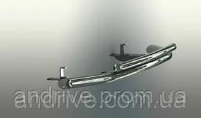 Захист переднього бампера (ус подвійний) Volvo XC-60 2008-2013