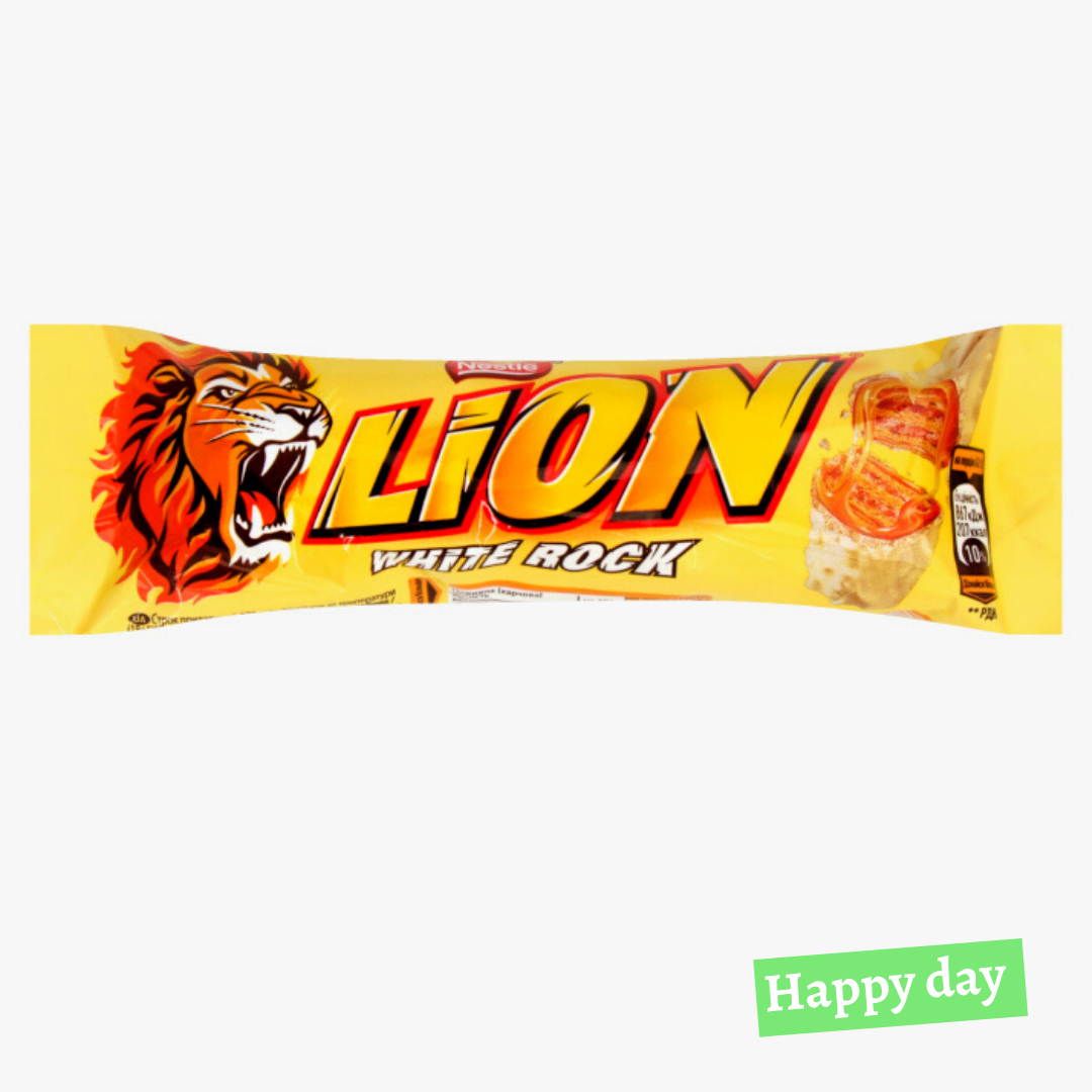 Lion white rock 48*42г
