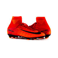 Бутси пластик JR MERCURIAL SUPERFLY V DF FG 38