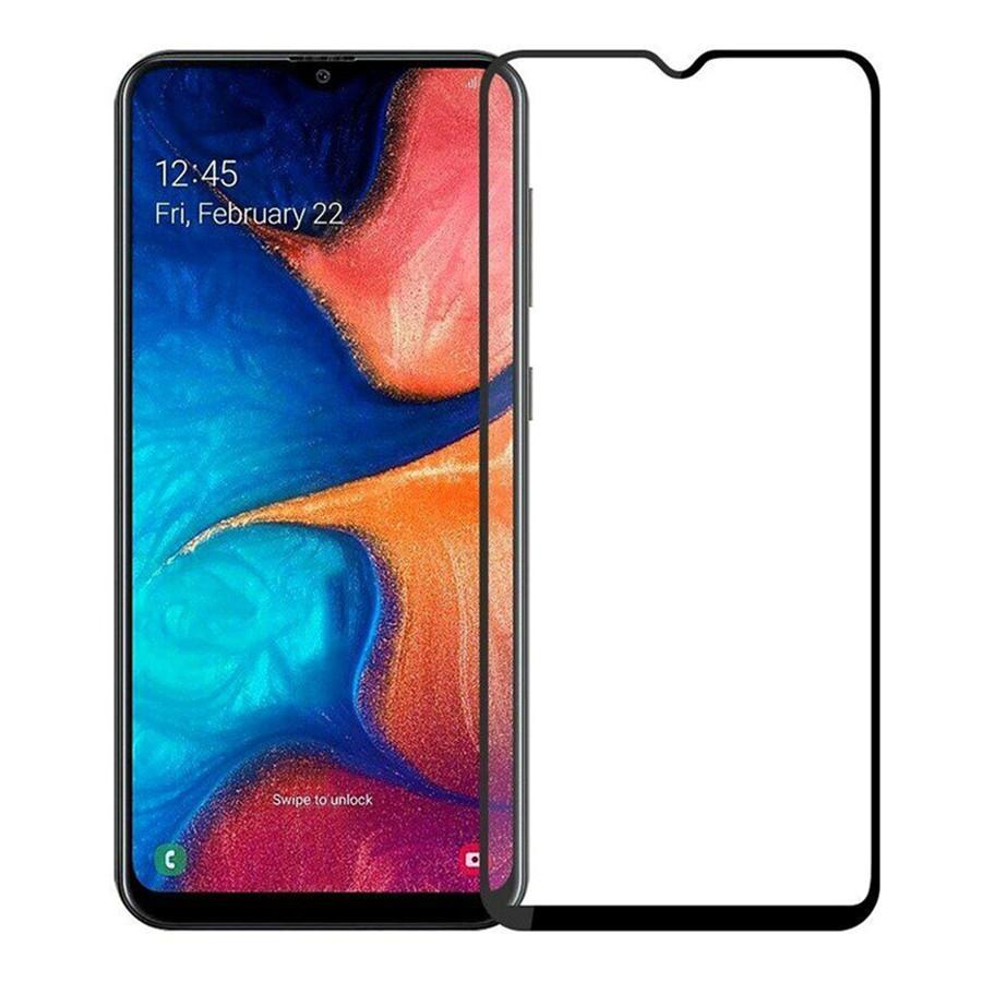Защитное стекло для Samsung A20s-2019 3D Black (тех.пак)