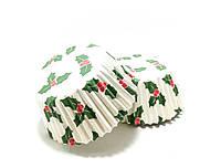 Тарталетки бумажные Рождество 5х3 см 1000 шт