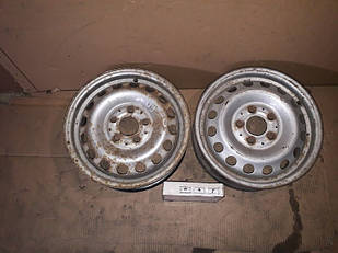 №87 Б/у диск R15  5x112   ET60  DIA 66.6 для Mercedes-Benz Vito 1996-2003