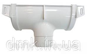 Воронка водостічної системи Хантер (Hunter) Браво 125х82 мм білий
