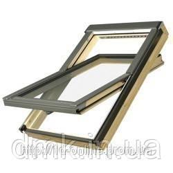Мансардное окно Факро (FAKRO) FTP-V U3, 10  114x118 cм
