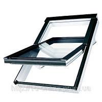 Мансардне вікно Факро (FAKRO) вологостійке PTP V U3, 55x78 01 см, фото 1