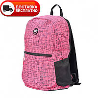 Рюкзак молодежный YES R-09 Сompact Reflective 558506 розовый
