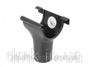 Воронка водосточной системы Марлей (Marley) СONTINENTAL 125 мм антрацит