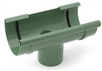 Воронка зливна водостічної системи Бриза (Bryza) 125 мм зелений