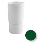 Муфта трубы водосточной системы Бриза (Bryza) 90 мм зеленый