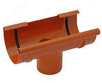 Воронка сливная водосточной системы Бриза (Bryza) 125 мм кирпичный