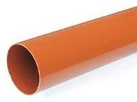 Труба водостічної системи Бриза (Bryza) 90 мм цегляний