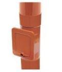 Люк для чистки водосточной системы Бриза (Bryza) 110 мм кирпичный