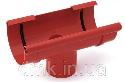 Воронка зливна водостічної системи Бриза (Bryza) 125 мм червоний