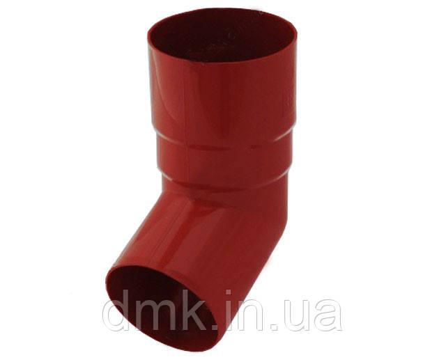 Коліно водостічної системи Бриза (Bryza) 90 мм червоний