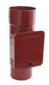 Люк для чистки водосточной системы Бриза (Bryza) 110 мм красный