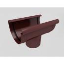 Воронка сливная водосточной системы Бриза (Bryza) 150 мм коричневый