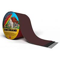 Покрівельна стрічка Никобенд (Nicoband) коричнева; 3*0,1 м, фото 1