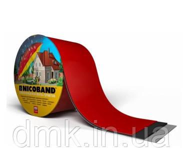 Кровельная лента Никобенд (Nicoband) красная; 10*0,15 м