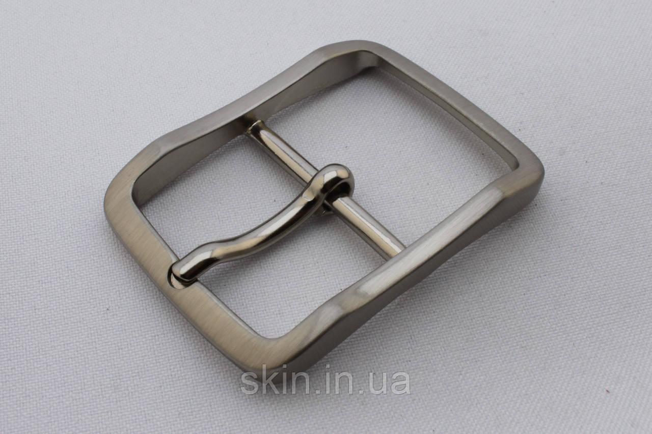 Пряжка ременная, ширина - 35 мм, цвет - никель, артикул СК 5636