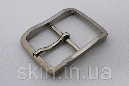 Пряжка ременная, ширина - 35 мм, цвет - никель, артикул СК 5636, фото 2