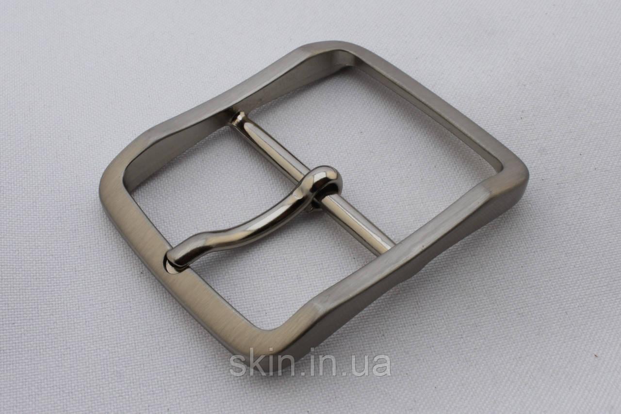 Пряжка ременная, ширина - 40 мм, цвет - никель, артикул СК 5637