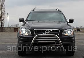 Захист переднього бампера (кенгурятник) Volvo XC-90 2004+