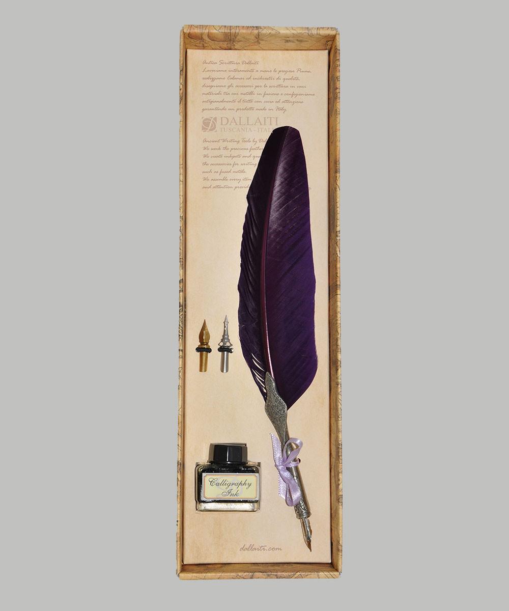 Набор для письма и каллиграфии Dallaiti Piu11 фиолетовый